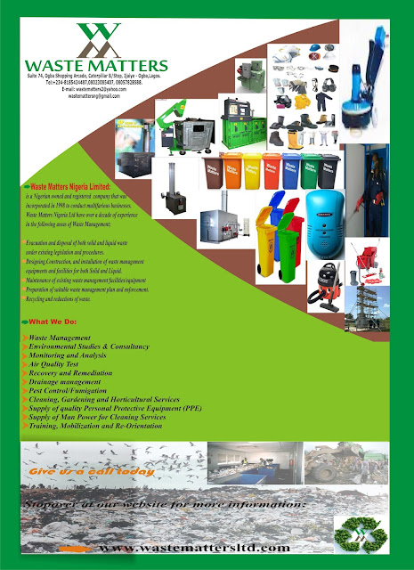 WASTE MATTERS NIGERIA LTD