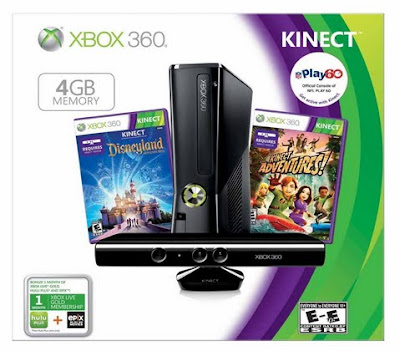 Kinect Bonus Game Bundle, XBox Bundle, Holiday Game Values