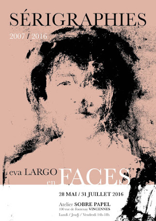 Sérigraphies d'Eva Largo à l'Atelier Sobre Papel - Prolongation Octobre-Novembre