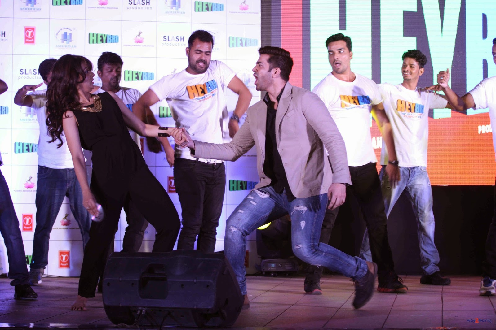 Celebs at Music success bash of 'Hey Bro'