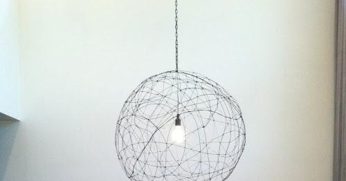 Diy d i wire chandelier the refab diaries - Wire chandelier diy ...
