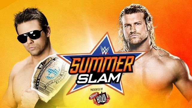 WWE SummerSlam 2014 » The Miz vs Dolph Ziggler (Intercontinental Championship Match)
