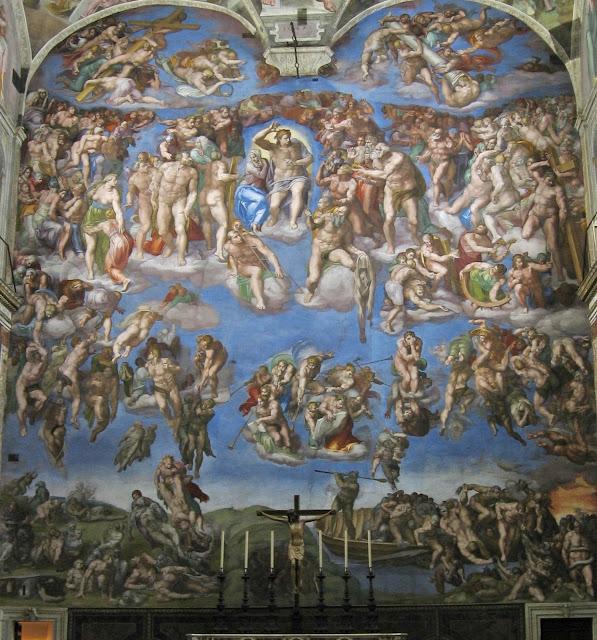 an analysis of michelangelos sistine chapel