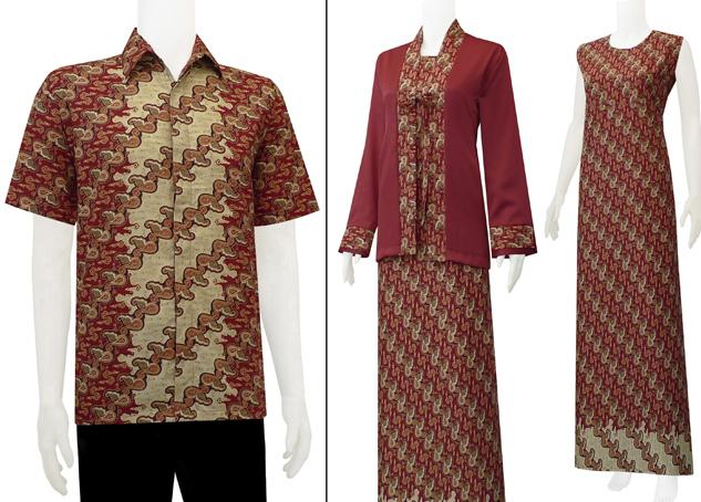 Inilah Model Dan Desain Terbaik Baju Batik Kombinasi Tahun