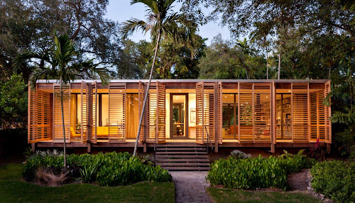 Brillhart Architecture Tropical House
