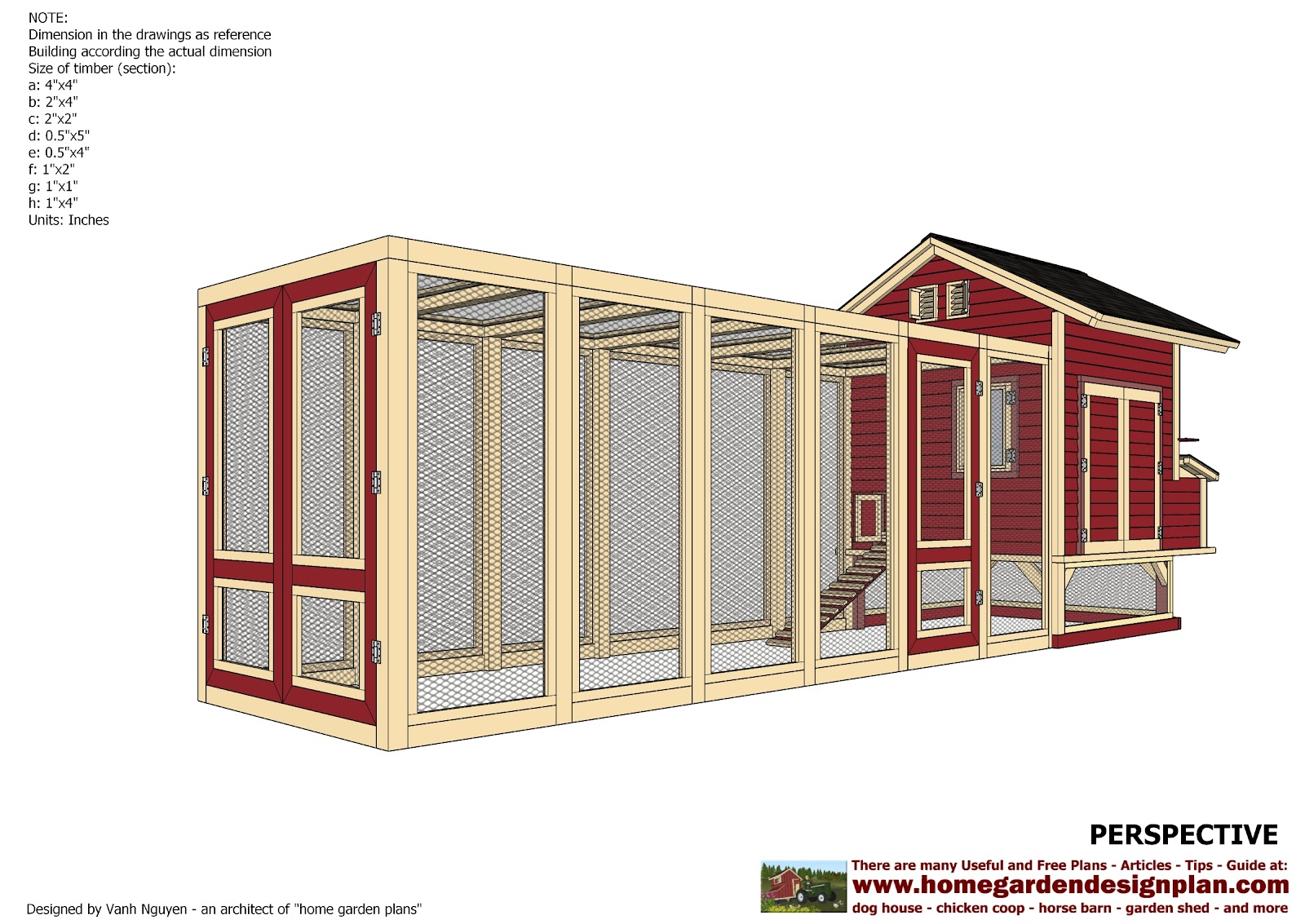 Home garden plans l102 chicken coop plans construction for Plans for chicken coops