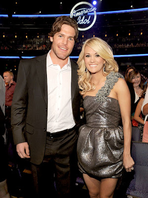 Carrie Underwood with Husband