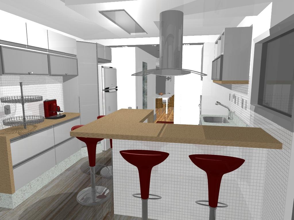 03 projeto de decoraçao de apartamento em 3D.jpg #8C663F 1024 768
