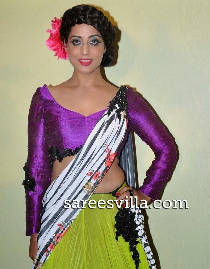 Mahie Gill At Lakme Fashion Week Press Conference