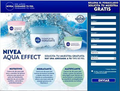 nivea aqua effect