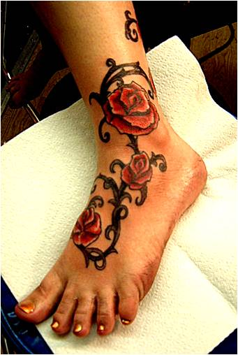 Trend tattoo styles rose tattoo symbol for Rose with thorns tattoo