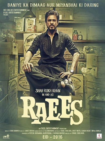 Raees (2016) Movie Poster No. 1