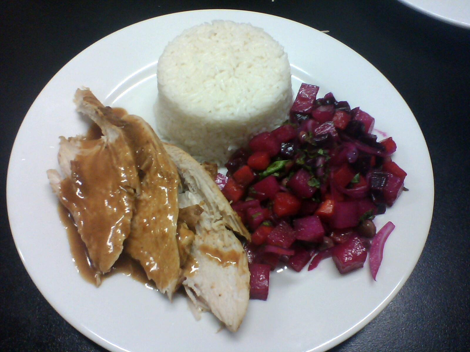 recipe: ensalada rusa con pollo al horno [7]