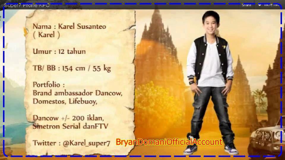 Biodata Karel Super Seven