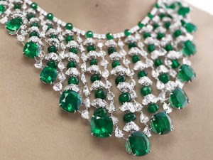 Diamond And Emerald Necklace by Chopard