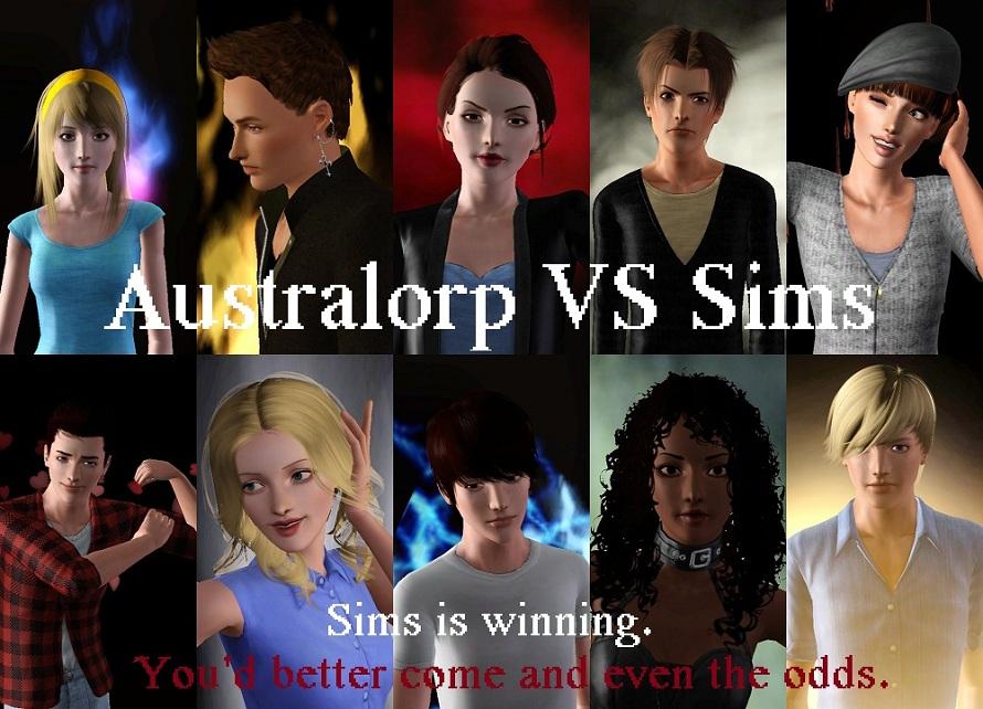 Australorp VS Sims