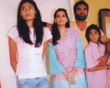 Sunil Shetty's Family