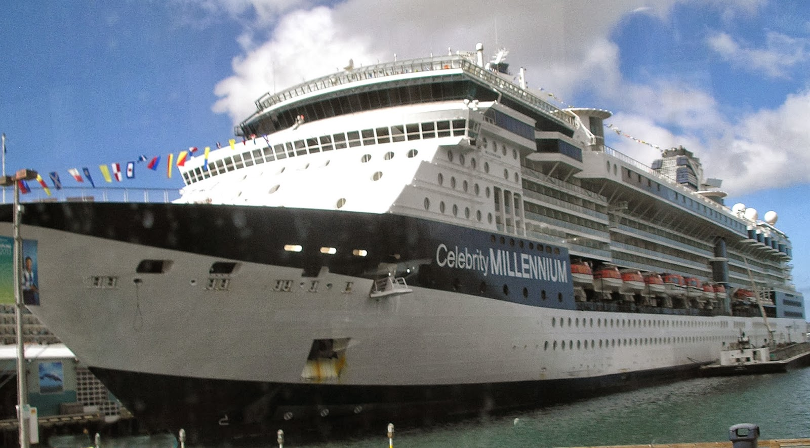 Current position Celebrity Millennium Ship's position