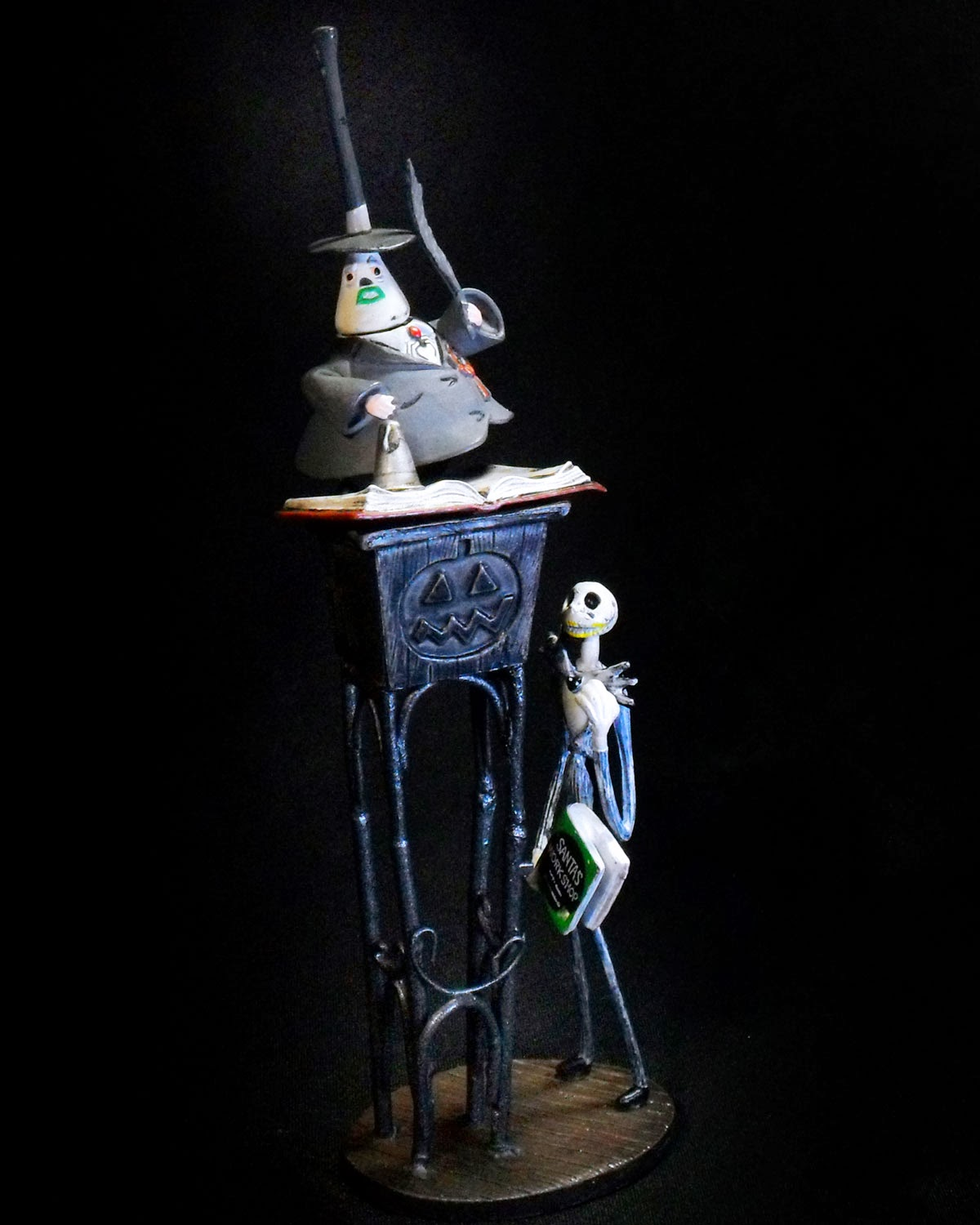 The Nightmare Before Christmas: Jack and the Mayor of Halloween Town