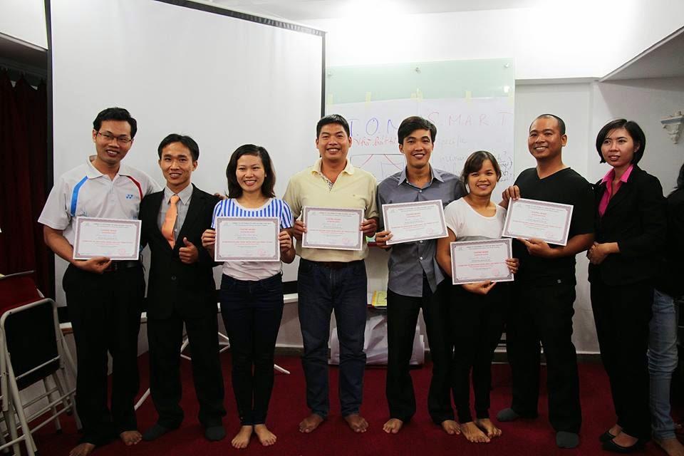 Ninh Xuân Trường - Chứng nhận kết thúc khóa học
