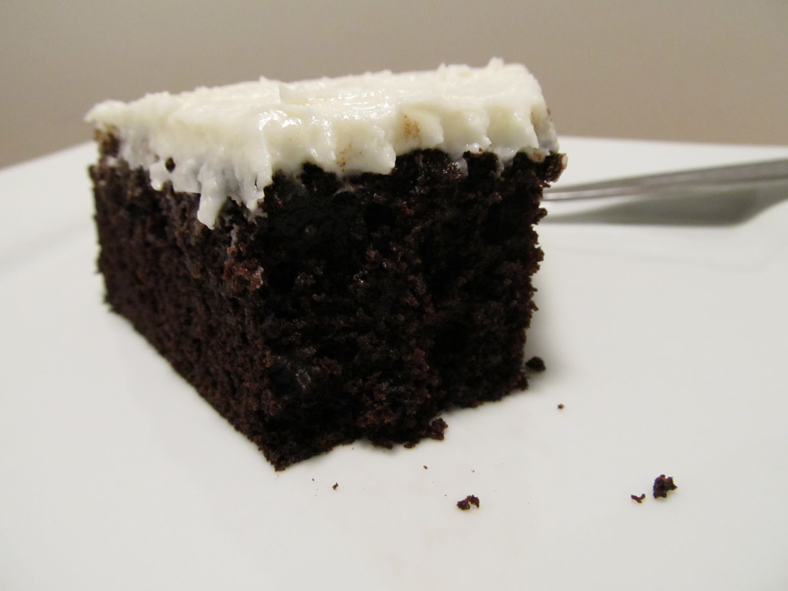 Jenn's Food Journey: Chocolate Mayonnaise Cake