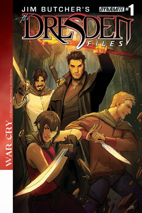 New Dresden Files Graphic Novel: WAR CRY