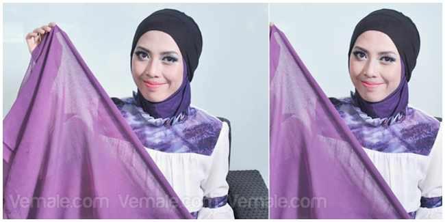 Tutorial Hijab Turban Kepang