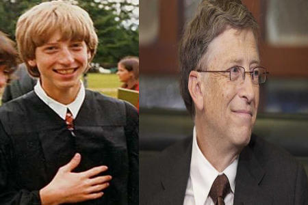 Young Bill Gates and higher