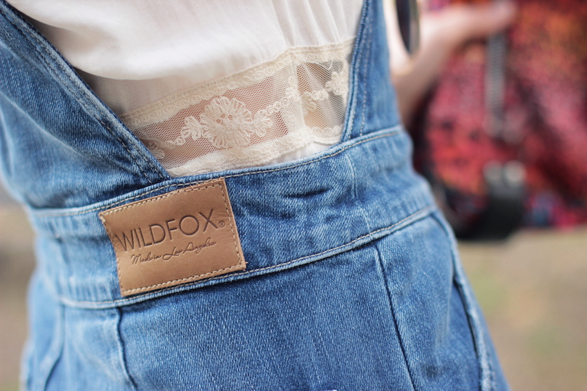 milan fashion week street style wearing wildfox