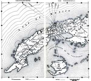 mapa de CUBA de 1019