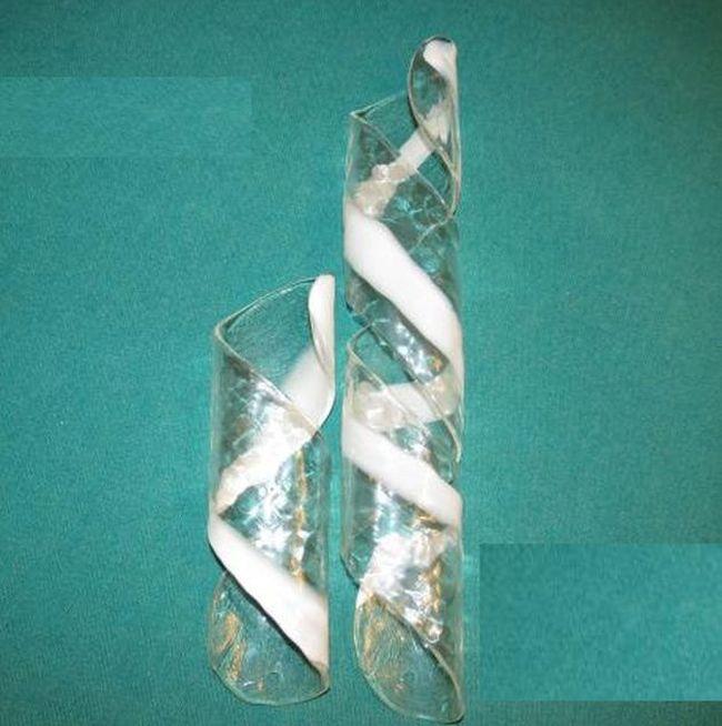 vetro per lampadari : Ricambi per lampadari in vetro di Murano: Tronchetto ricambio in vetro ...
