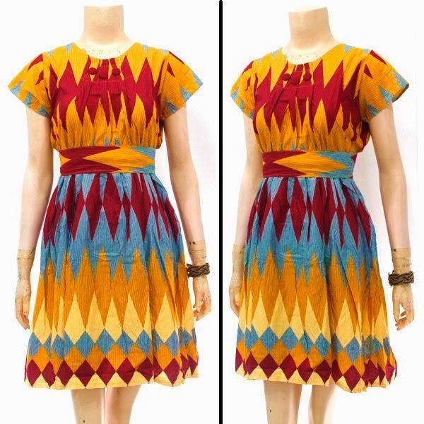 Dress Batik Motif  Rang Rang