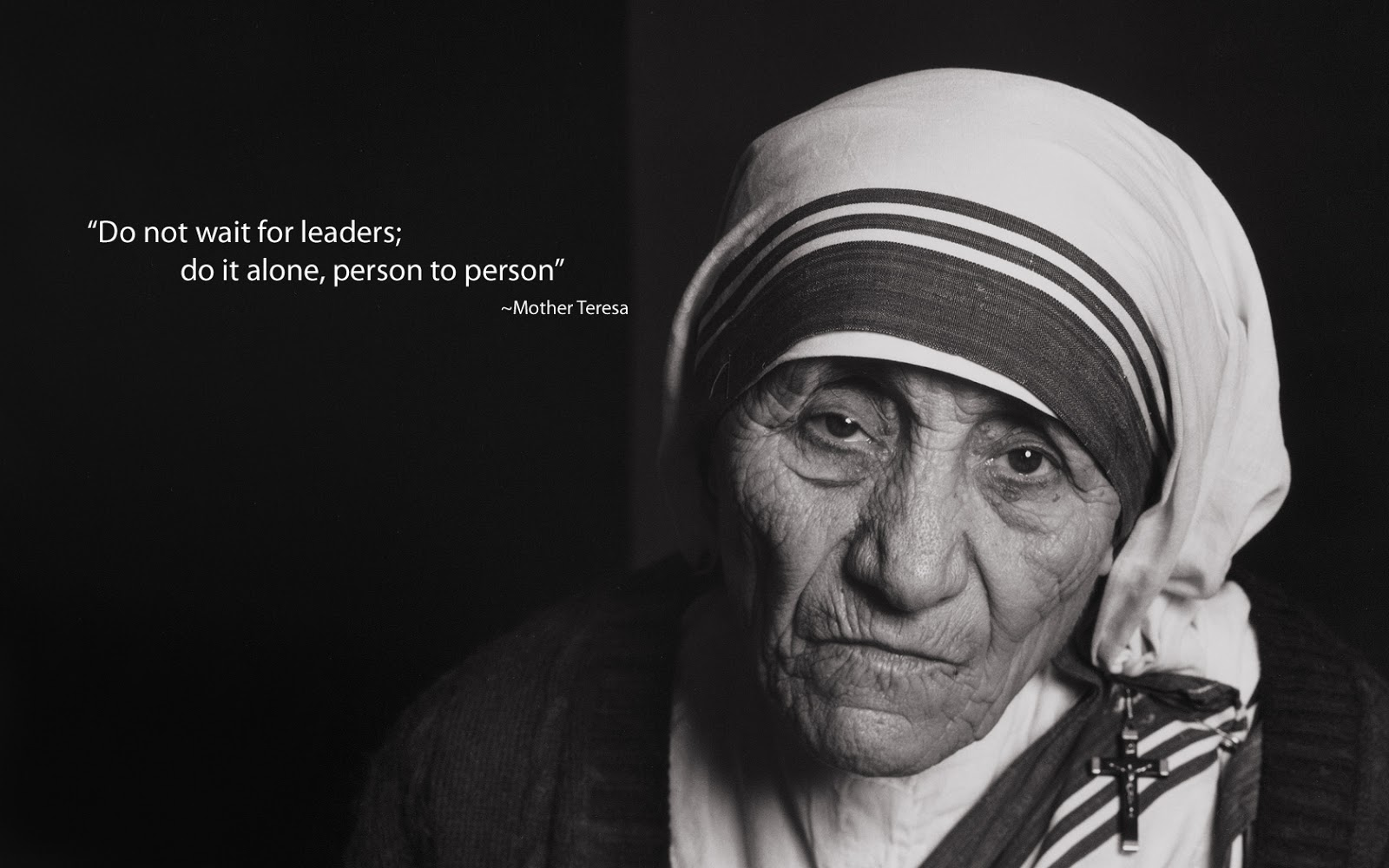 Essay on my role model mother teresa