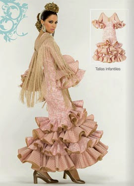traje de flamenca niña lunares El Corte Inglés