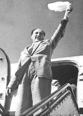 Ex político Víctor Raúl Haya de la Torre