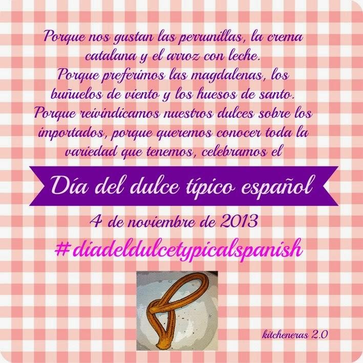 4 de noviembre. El dulce típico español