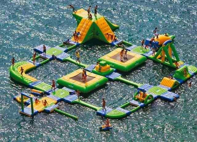 Inflatable Water Park photo