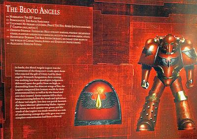 La Legíon de Blood Angels durante la Herejía de Horus