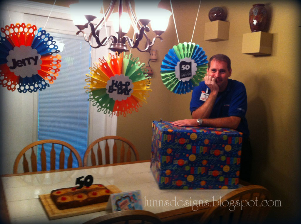 Lunn 39 S Designs My Husband 39 S 50th Birthday Part 1