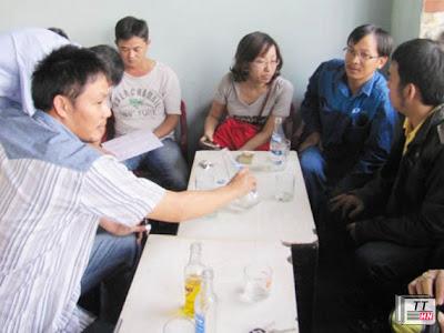 Khách hàng mua đất dự án khu dân cư Trung Nghĩa phản ánh vụ việc với báo chí