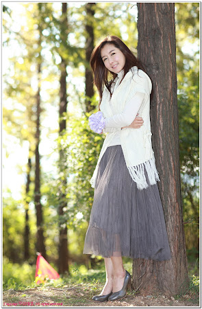 Han Seo Yeong, Lovely Outdoor 01