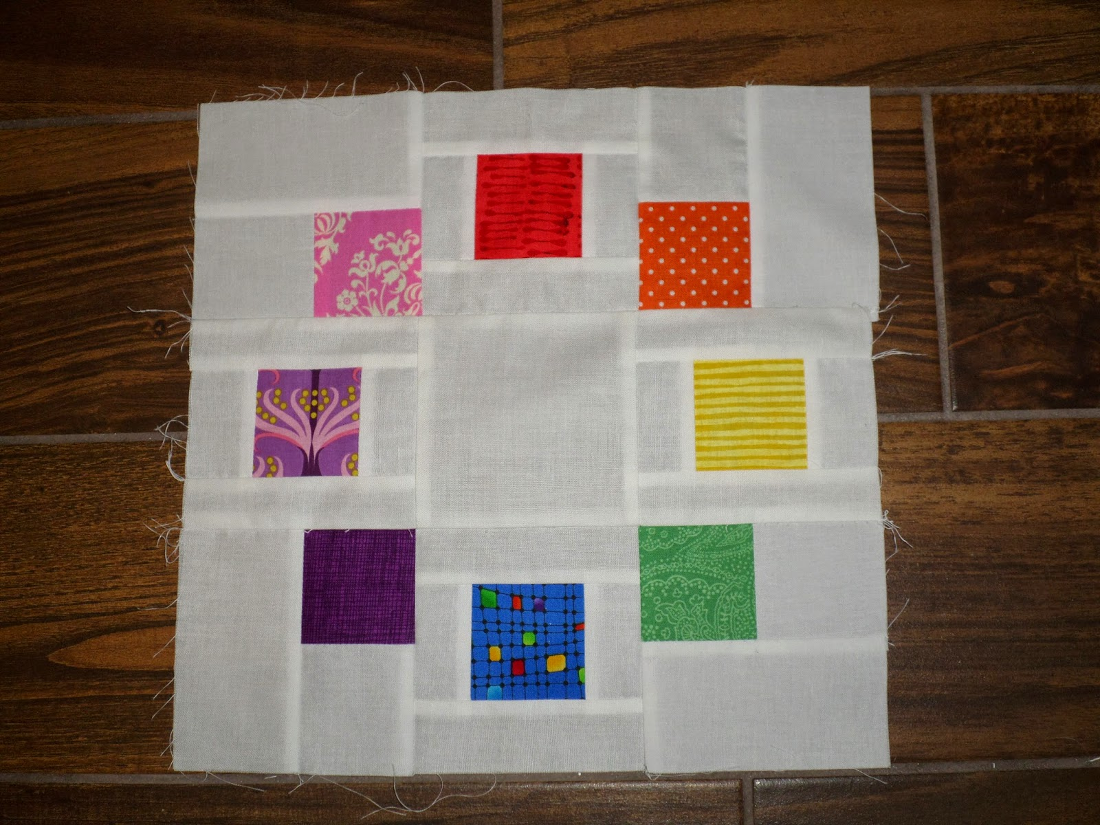 Block Of The Month Circle Of Friends Block