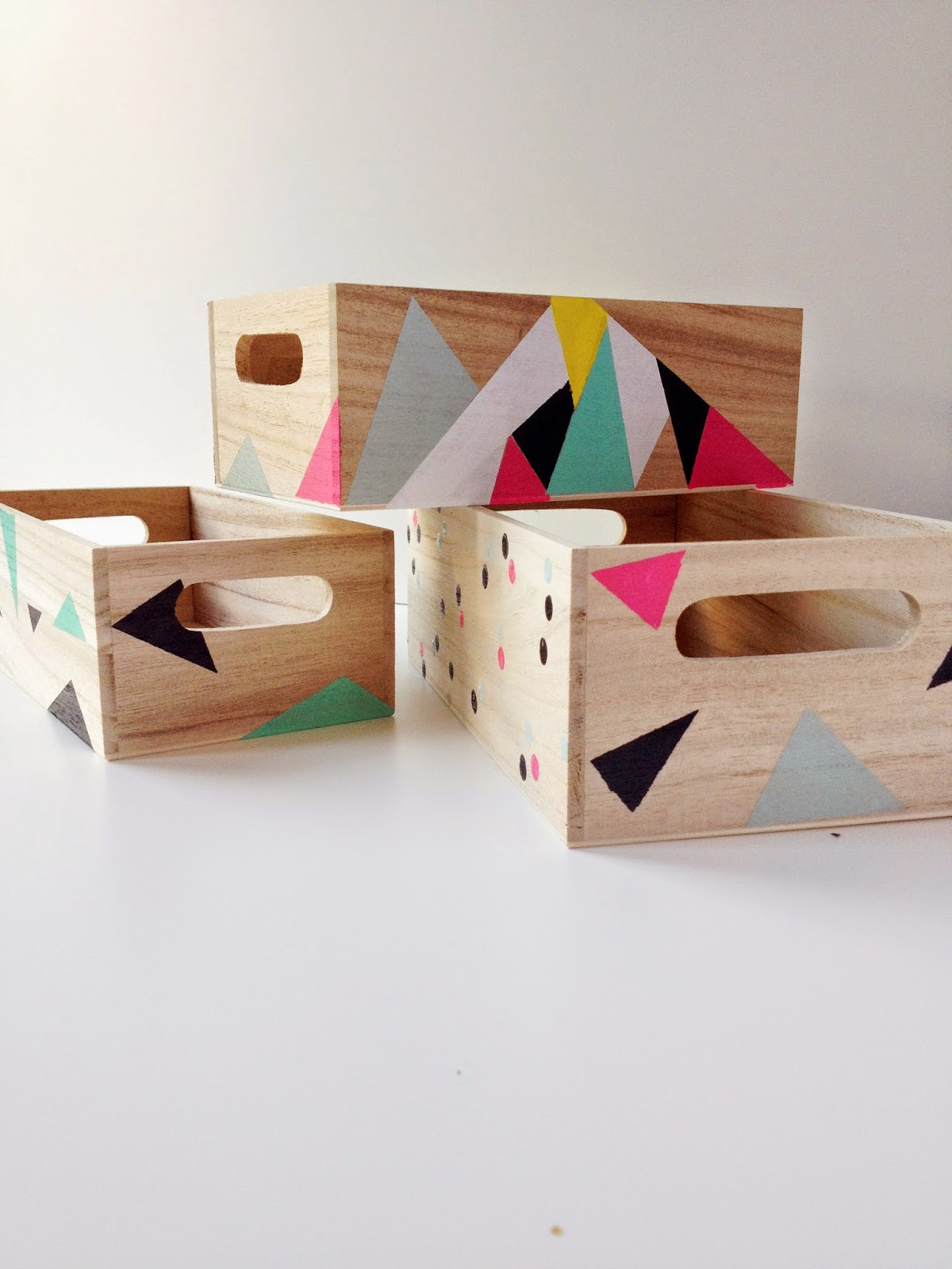 Martu alterada diy pinta tus cajas de madera - Cajas madera para decorar ...