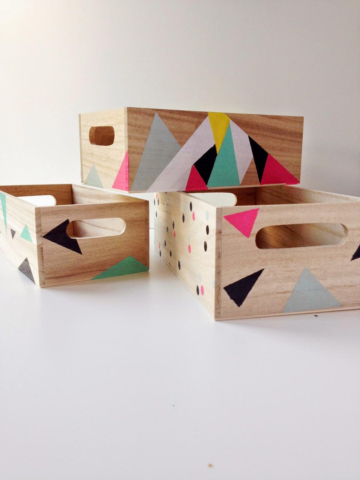 Como decorar una caja de madera tutorial facil paso a paso - Madera para decorar ...