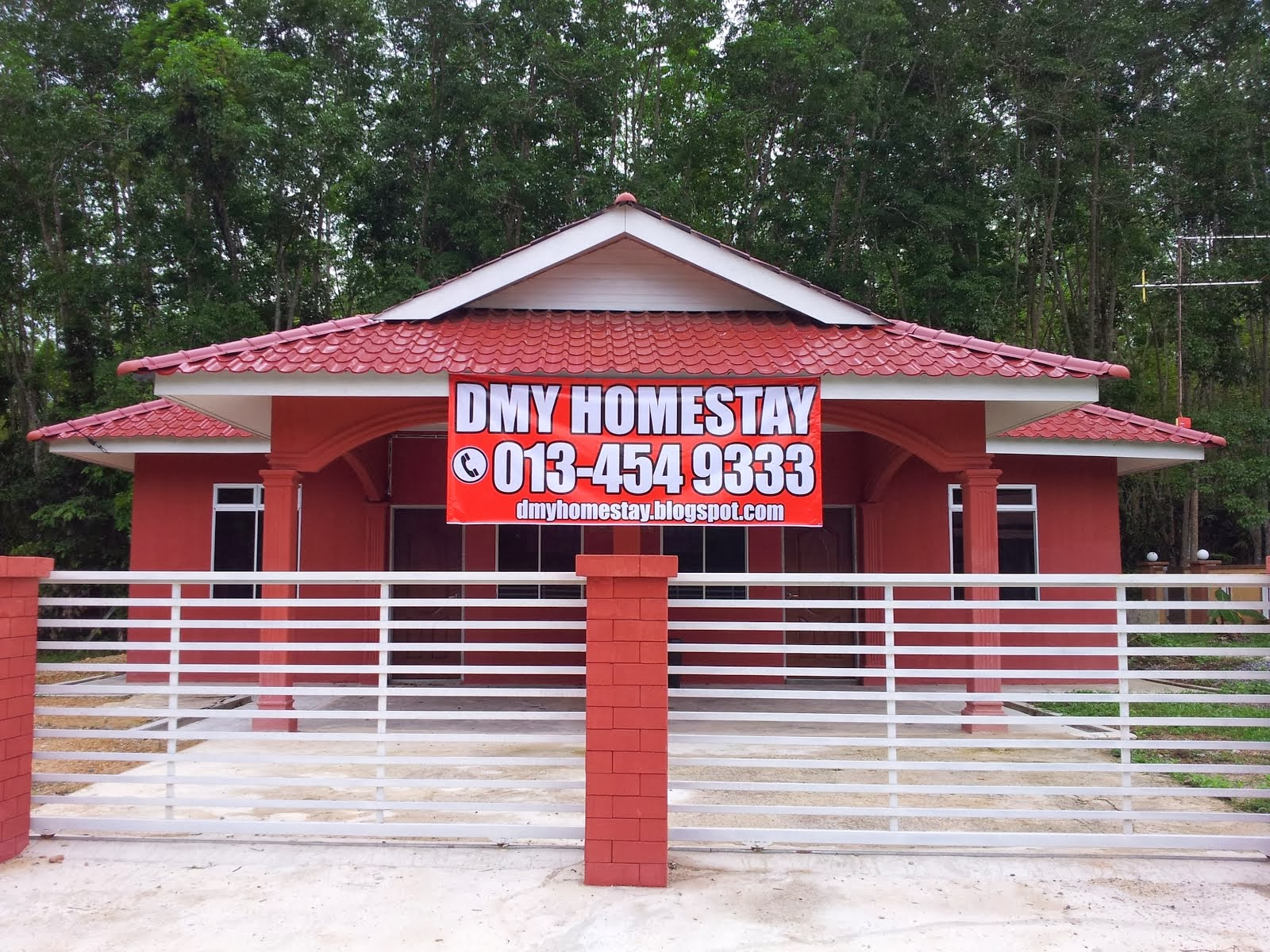Homestay semi-D : 2 unit