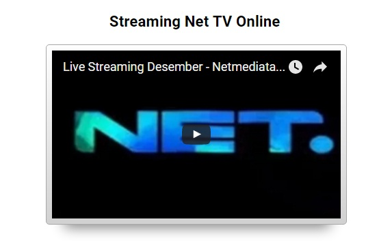 Streaming Net TV Online