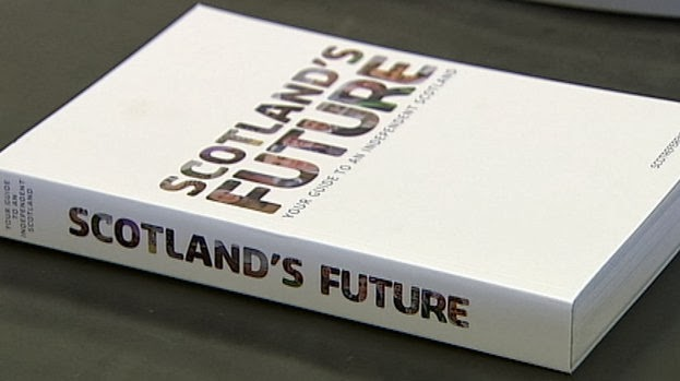 Stimmzettel vom 18. September 2014 zur Unabhängigkeit Schottlands.