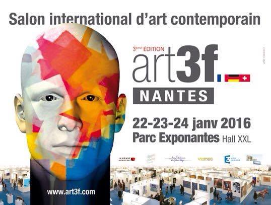 NANTES : LA GALERIE MONTESQUIEU EXPOSE CAPTON AU SALON ART3F