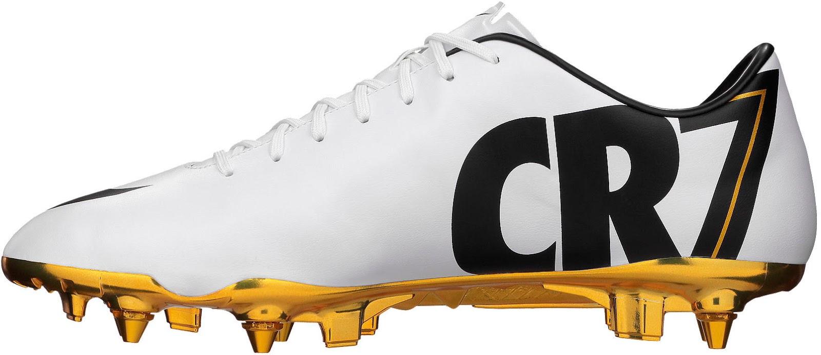White / Gold Nike Cris...