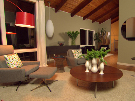 Mid-Century Modern Living Room Design Ideas | Room Design Inspirations